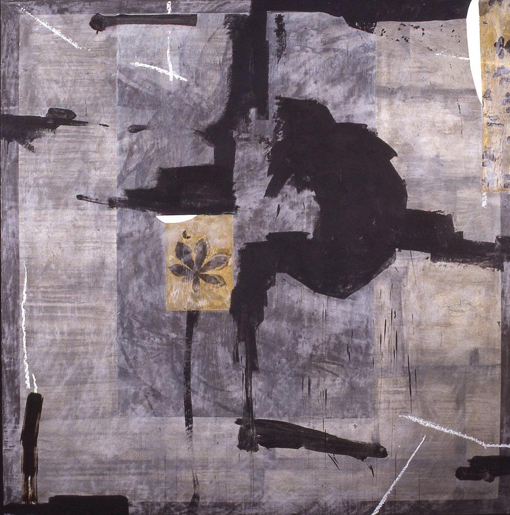 ISLA BRAQUE II  T. Mixta / Tela sobre madera, 160 x 160 cms.