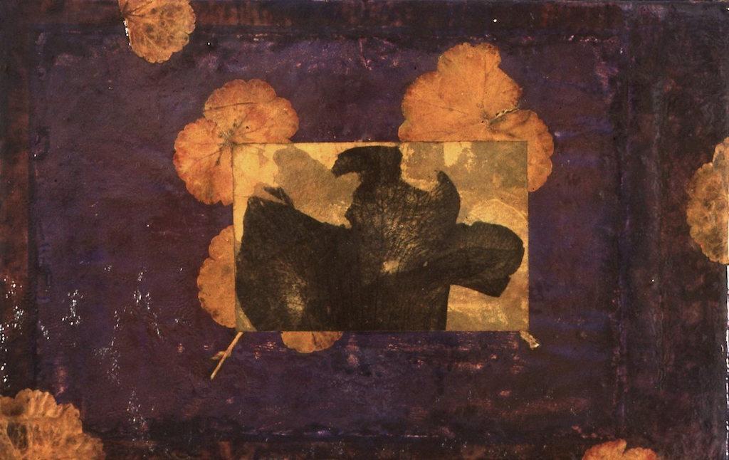 EL CIELO ES UN JARDÍN VII  T. Mixta / Tela, 22 x 35 cms.