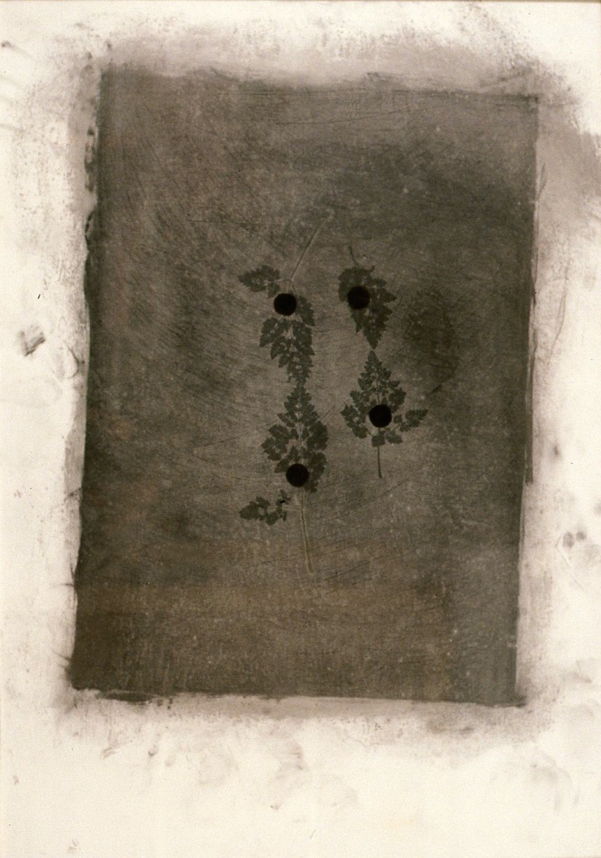 ENTRE NIEBLAS I T. Mixta / Papel, 100 x 70 cms.