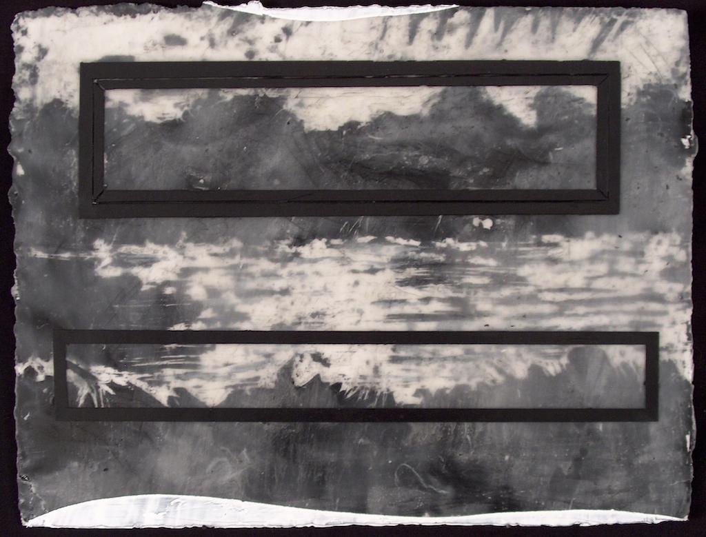 FONDO DE LA NOCHE III. T. MIXTA / PAPEL 23 x 33 cms