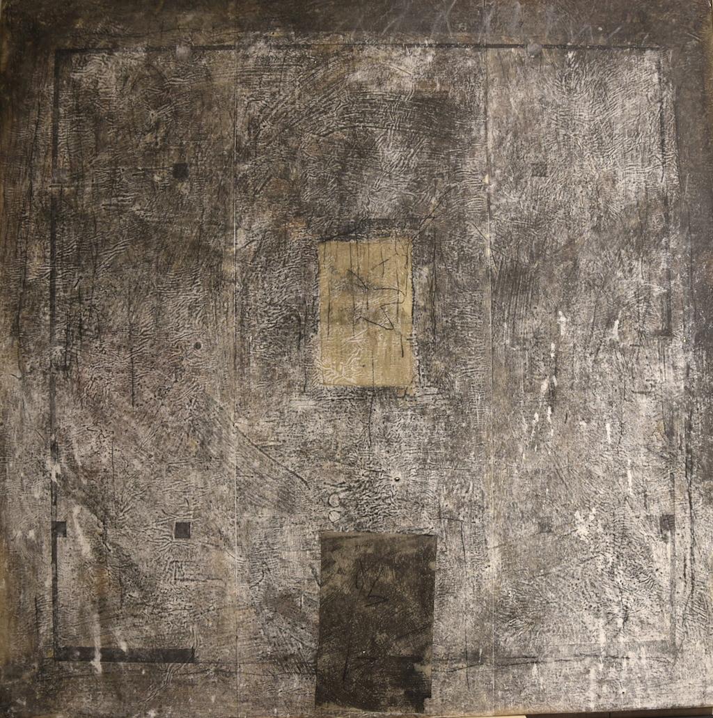 ISLA I T. Mixta / Tela sobre Madera , 100 x 100 cms.