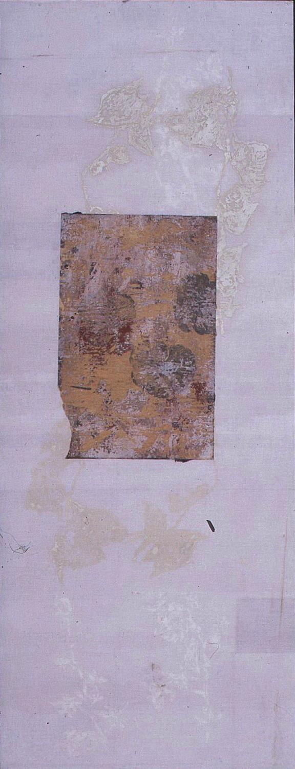 ISLA NATURAL I T. Mixta / Tela y Papel, 135 x 53 cms.