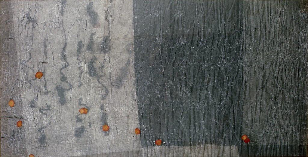 TOPOGRAFÍA DE LA MEMORIA T. Mixta / Papel, 90 x 175 cms.