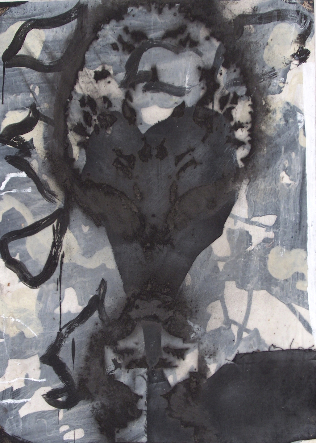 UMBRIA I T. Mixta / Papel, 70 x 50 cm.