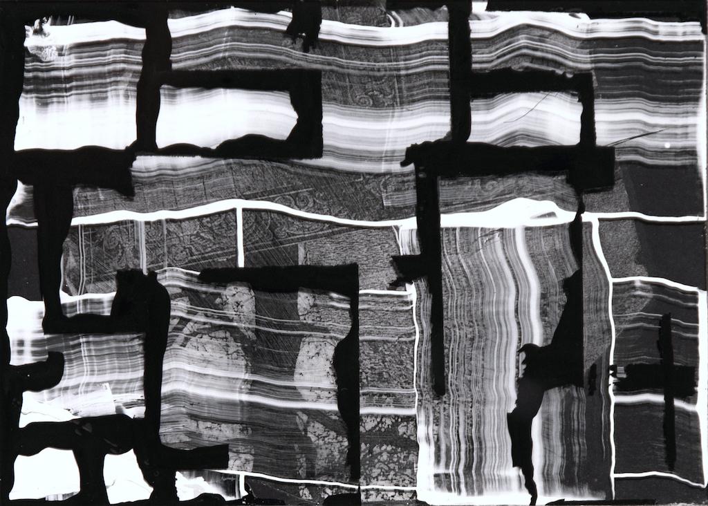 CASA WRIGHT, T. Mixta / Papel y vidrio. 13 X 18 cms