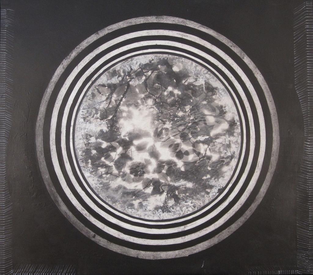A LA SOMBRA DE LOVAINA T. Mixta / Tela sobre madera 114 x 130 cms.