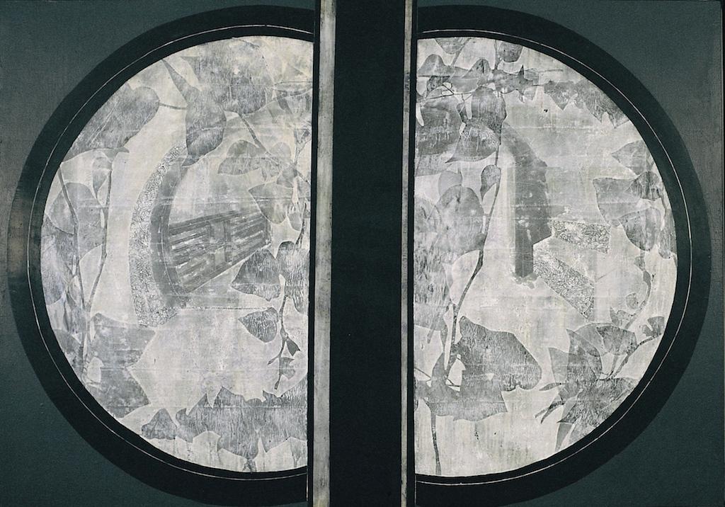 LA CASA DE LAS BELLAS DURMIENTES I T. Mixta / Tela sobre madera 114 x 162 cms.