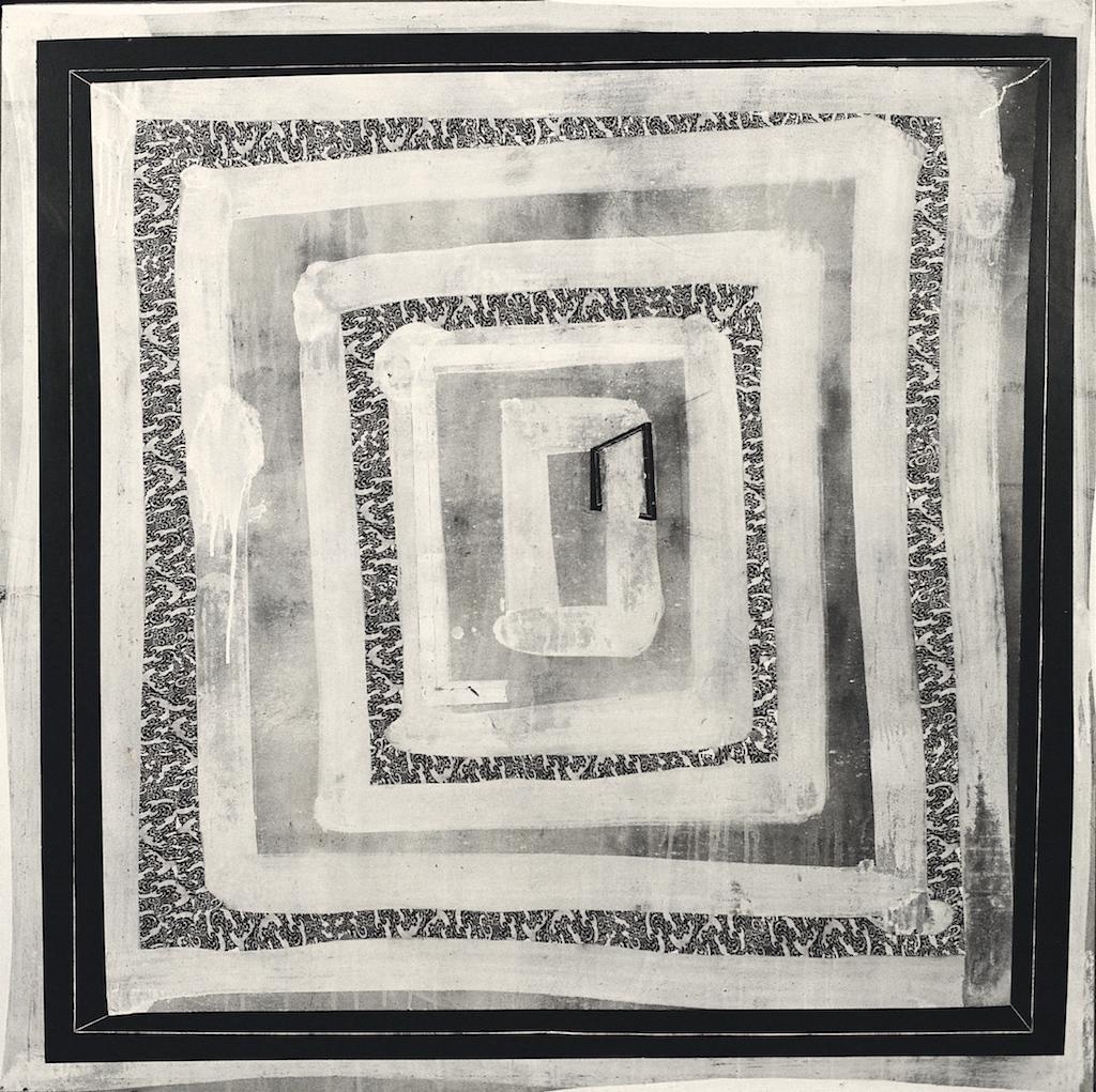 LARGO PASILLO  T. Mixta / Tela sobre madera. 160 x 160 cms.