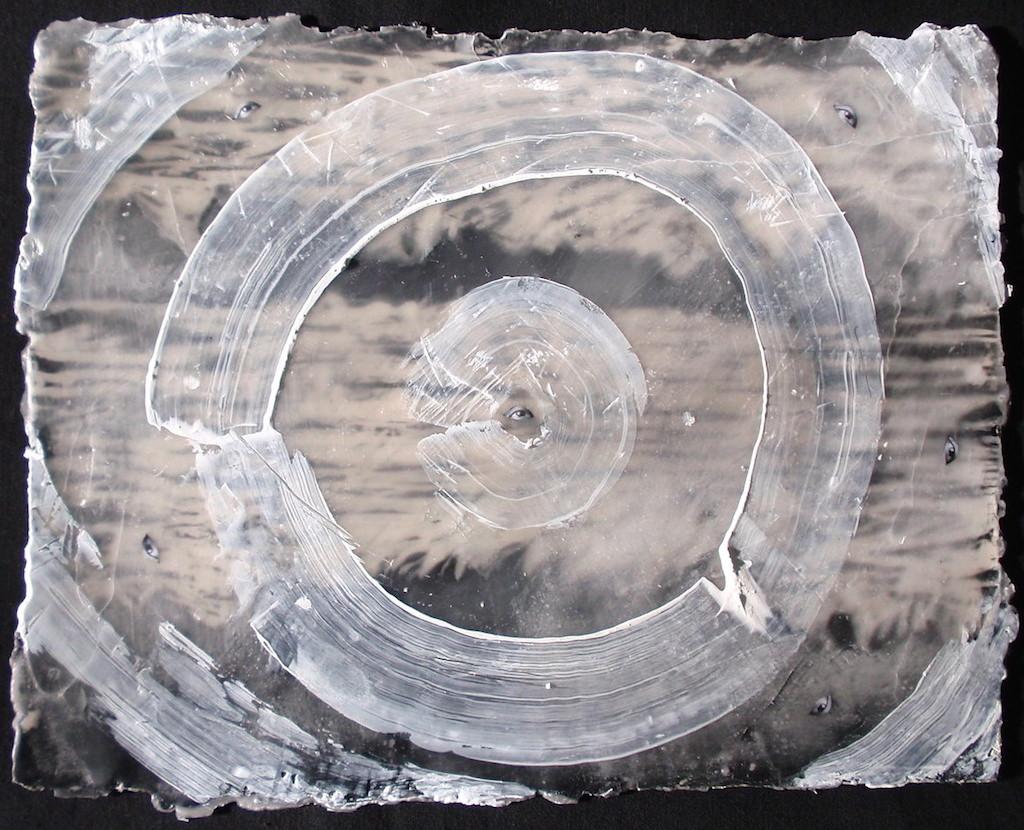 MIRADA CIRCULAR  T. Mixta / Papel 25 x 32 cms.