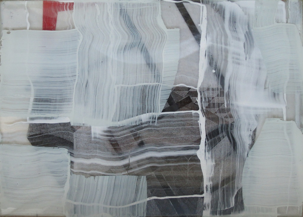 S/T. T. Mixta / Papel y vidrio. 13 X 18 cms